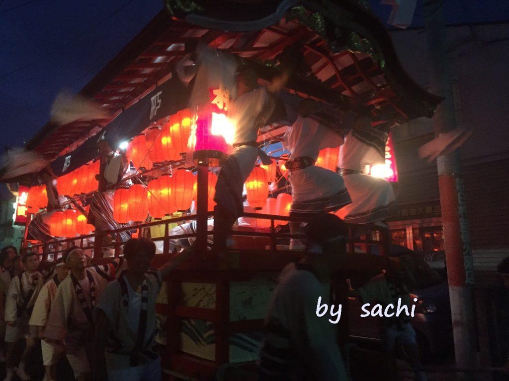 sachi 臼杵祇園祭1