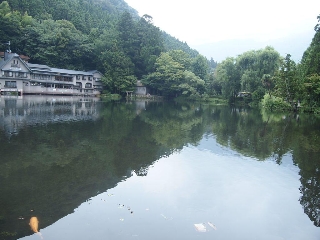 金鱗湖・夏